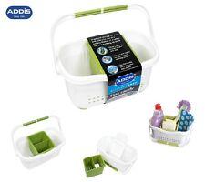 White Green Kitchen Sink Organiser Storage Tidy Caddy Cutlery Drainer kitchen