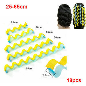 Water Wave Curl 25-55cm Magic Curlers Formers Leverage Spiral Hairdressing Tools
