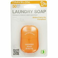 Travelon Laundry Soap / Detergent Travel Hygiene Sheets - 50ct