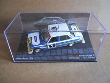 Rally Model Car PEUGEOT 504 TI J. P. Nicholas Safari Rally 1976 IXO 1:43  [MK]