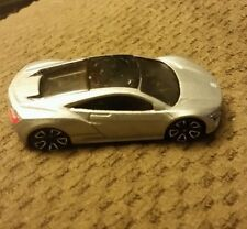 Hot Wheels 2013 All Stars Series 2012 Acura NSX Concept in Silver 1/64th diecast