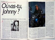 Mag 1989: JOHNNY HALLYDAY_BROOKE SHIELDS_BIOMAN_JACQUES PENOT_EUROTUNNEL
