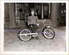 1940s Young Tween/Teen Boy New J.C. Higgins Bike Bicycle Christmas Gift Photo