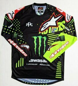 AlpineStars Motocross Size XL Eli Tomac #3 Monster Energy Racing Jersey