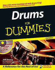 Drums for Dummies, 2nd Edition ' Strong, Jeff trackable freepost australia