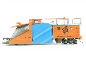 S Scale Wooden Indian Head Snow Plow #9068 - Custom