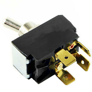 Carling 2 Position Toggle Switch with Tabs, DPST