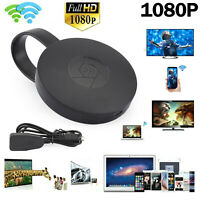 1080P G2 TV Stick Dongle Anycast Crome Cast HDMI TV WiFi Wireless Receiver