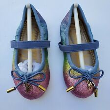 Sam Edelman Toddlers Felecia Rainbow Ombre Flats Unicorn Ballet Size 5 D