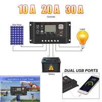 Laderegler Erneuerbare Energie 30a 12v 24v Pwm Solar Laderegler Solarregler Solarpanel Controller Regulator Pb