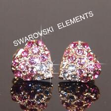 Bisutería de color principal rosa de cristal oro blanco