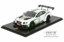 Bentley Continental GT3 - Kane / Meyrick 24 Hours of Spa 2015 - 1:43 Sparl SB109