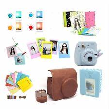 7in1 Instant Film Camera Accessories Bundles for Fujifilm Instax Mini8 Brown bag