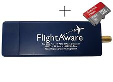 MicroSD + FlightAware Pro Stick Plus ADS-B USB Receiver with Built-in Filter