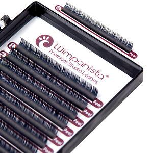 Seidenwimpern - Einzelwimpern C Curl - Silk Lashes - Stärke 0.15 mm -16 Streifen