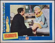 MARILYN MONROE BIOPIC 1963 LOBBY CARD #1