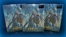 THOR THE DARK WORLD BLUFANS 3D/2D BLU RAY STEELBOOK * LENTICULAR SLIPCOVER