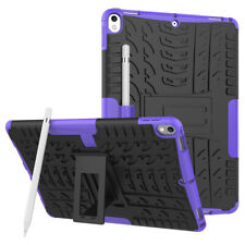 Rugged Hybrid Stand Hard Cover Case For iPad Pro 9.7 Pro 11 Pro 10.5 Air 3 2019