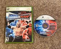 Xbox 360 - WWE SmackDown vs. Raw 2007 - No Manual - Tested & Guaranteed to Play