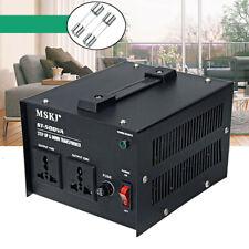 110V 220V Step Up & Down Voltage Converter Transformer Heavy Duty for 500W