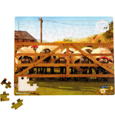 SMALLFOOT DESIGN - PUZZLE BOIS 100 PIECES - SHAUN LE MOUTON - AVENTURE / 10223