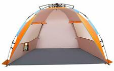 Family Beach Tent XL Size Sun Shade Protector Waterproof Windproof Travel NEW