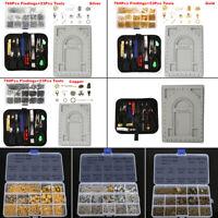 Jewelry Making Kit Repair Tools Set Findings Beading Wire Supplies Lot Craft DIY