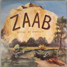 """Zaab - """"Getting Off Severely!""""  Signed by Cedric Benoit RARE 1983 LP"""