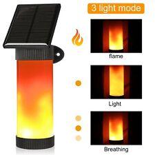 Solar Garten Tür LED leicht flackernden Feuer Flamme Landschaft Wandleuchte Neu