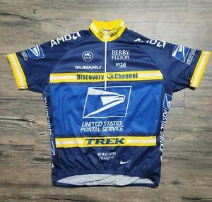 Nike 2004 Tour de France Team USPS Discovery Trek Men's Cycling Jersey Size XL