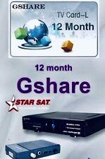 Abbonamento Gshare Starsat 2000 HD hyper E Altri Decoder Satellitari