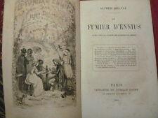 FUMIER D'ENNIUS Alfred Delvau EO frontispice de Léopold Flameng 1865 ( rare)