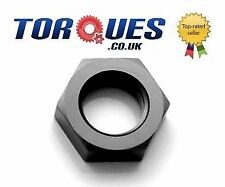 AN -20 (20AN JIC-20) NUT for Bulkhead Fittings In Stealth Black