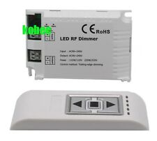 90-240VAC 1 Channel Trailing Edge Dimming 3 Key Remote RF LED Dimmer Control