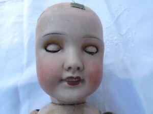 poupée ancienne Unis France 301 taille 8 Tete porcelaine à restaurer corps bois