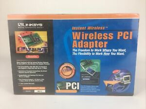 NEW Linksys Instant Wireless PCI Adapter WDT11