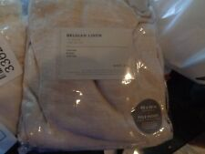 2 West Elm  Belgian Linen drapes curtains 48 96 unlined natural  New W TAG