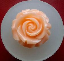 BLUME FLOWER Silikonform silicone Mold fondant seife fimo  Rose GIPS
