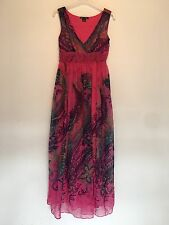SIZE M PINK/PURPLE MAXI DRESS PARTY/TOWIE/FESTIVAL/CLUBBING/IBIZA NEW RRP £30