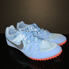 Nike Racing Rival M Mixed Use Women Track Shoe Robbin Egg Blue Size 12 Spikes