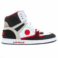 Scarpe Airwalk Prototype 600°F Hi Skate Shoe Red - Scarpe da Ginnastica