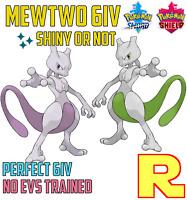 6IV MEWTWO ⚔️ SHINY or NOT (+ITEM!) 🛡 POKEMON SWORD & SHIELD