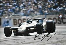 Riccardo Patrese SIGNED 12x8 , F1 Arrows-Cosworth A2 , German GP Hockenheim 1979