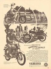 1966 Yamaha Twin Jet 100, Newport 50, & Campus 60 - Vintage Motorcycle Ad