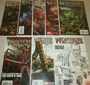 Wolverine #66-72 (Complete Old Man Logan) #66 3rd Print variant! Lot set + G.S.