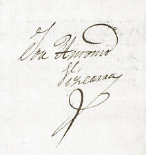 1823 3rd GOVERNOR OF NEW MEXICO🇲🇽 JOSÉ ANTONIO VIZCARRA  AUTHENTIC AUTOGRAPHER