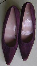 Franco Sarto Borgoña Tribunal Zapatos De Gamuza - 40 (7)