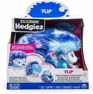 Zoomer Hedgiez Flip Interactive Hedgehog Lights Sounds & Sensors Spin Master