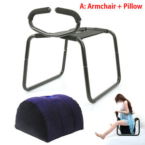 Weightless Sex Chair Stool Inflatable Pillow Love Position Aid Bouncer For Adult