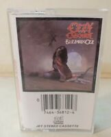Ozzy Osbourne Blizzard Of Ozz CASSETTE Tape 1981 VTG.Original Press
